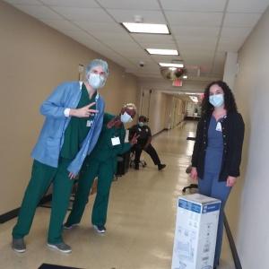 Nurses from Morton Plant